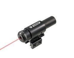 Uniwersalny celownik laserowy montaż 11/22 mm czerwień