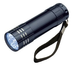 Latarka LED 9 diód