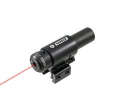 Celownik laserowy montaż 11mm czerwień