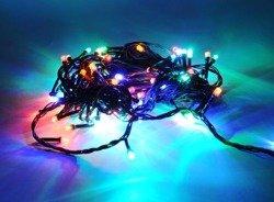 Lampki choinkowe LED 100 multi ZK