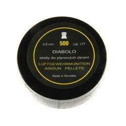 Słowacki Śrut KTK Diabolo grzybek 4,5 mm 500 szt.
