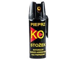Gaz pieprzowy Ko FOG stożek 50ml z blokadą i klipsem