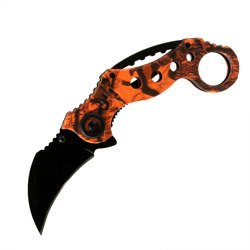 Nóż Karambit Orange Claw