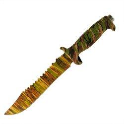 Nóż stały Camo Badger